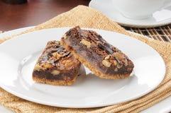Gastronomische zachte toffee brownies Royalty-vrije Stock Fotografie