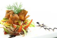 Gastronomische zeevruchten royalty-vrije stock afbeelding