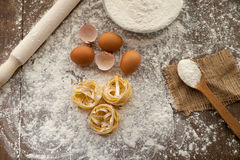 Gastronomy cooking process. Stock Photography