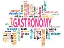 Gastronomy tag cloud