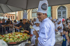 GASTRONOMY WEEK on Liberty Square in Belo Horizonte, Brazil Royalty Free Stock Photos