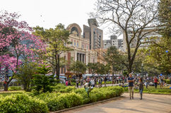 GASTRONOMY WEEK on Liberty Square in Belo Horizonte, Brazil Stock Image