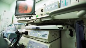 Gastroscopy Office in Hospital of Ambulance stock video footage