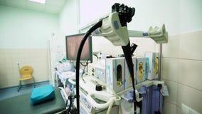 Gastroscopykontor i sjukhus av ambulansen arkivfilmer