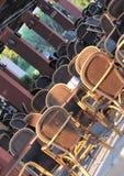 Gaststätte-Anordnung Lizenzfreie Stockbilder