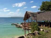 Gaststätte in der Paradies-Insel Stockbild