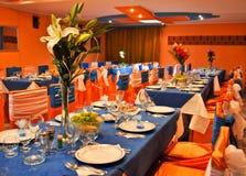 Gaststätte für Hochzeit Lizenzfreie Stockfotos