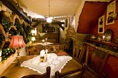 Gaststätte im Keller lizenzfreies stockfoto