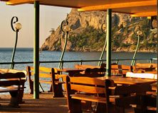 Gaststätte im Paradies Lizenzfreie Stockfotografie