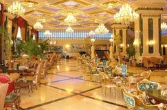 Gaststätte im türkischen Hotel. Lizenzfreies Stockfoto