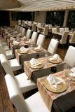 Gaststätte-Innenraum Lizenzfreies Stockbild