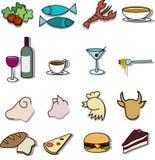 Gaststätte-Menü Lizenzfreies Stockbild