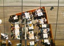 Gaststätte-Reflexion Stockbilder
