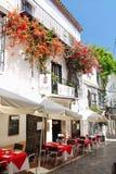 Gaststätte in Spanien Lizenzfreie Stockfotografie