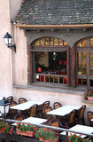 Gaststätte in Straßburg, Elsass, Frankreich Stockbild
