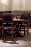 Gaststätteinnenraum Stockbild
