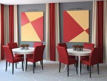 Gaststätteinnenraum. Lizenzfreies Stockbild