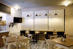 Gaststätteinnenraum Stockfoto