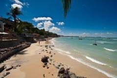 Gaststätten Paria DA im Pipa Brasilien Stockfotos