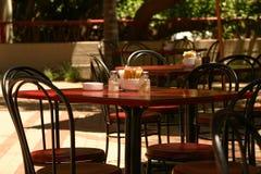 Gaststättetabelle Lizenzfreies Stockfoto