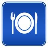 Gaststättezeichen stock abbildung