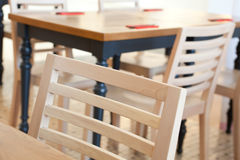 Gaststätteinnenraum Lizenzfreie Stockfotos