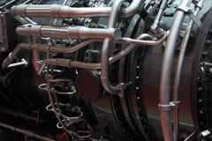 Gasturbinmotor royaltyfri fotografi