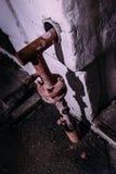 Gasversorgungsrohr lizenzfreie stockfotografie