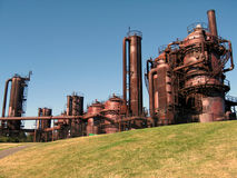 Gasworks Stock Photos