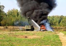 Gaszący ogień Zdjęcie Royalty Free