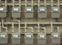 Gaszähler Stockbild