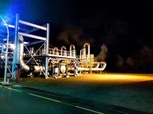Gaszuiveraarpost Stock Foto