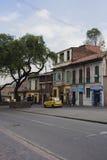 Gata av Bogota, Colombia Royaltyfri Bild