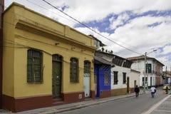 Gata av Bogota, Colombia Royaltyfri Foto