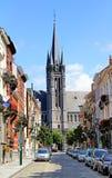 Gata av Bryssel Arkivfoto