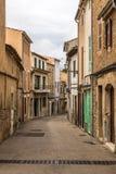 Gata av den gamla staden av Arta Arkivbilder