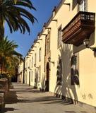 Gata av den gamla staden i Las Palmas de Gran canaria,  Arkivbild