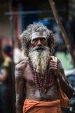 Gata av den indiska staden Royaltyfria Foton