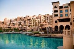 Gata av Dubai Royaltyfria Bilder