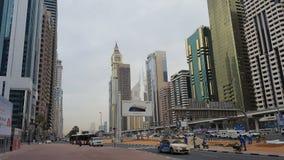 Gata av Dubai Royaltyfri Foto