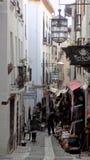 Gata av Granada-Spanien Royaltyfria Bilder