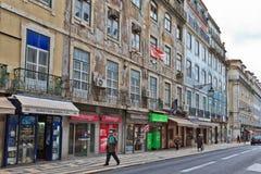 Gata av Lissabon Royaltyfri Bild