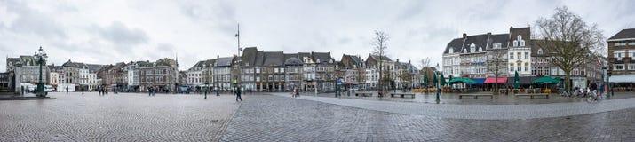 Gata av Maastricht Royaltyfri Fotografi