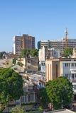 Gata av Maputo Arkivfoton
