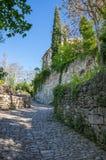 Gata av Oppede-le-Vieux Royaltyfri Bild