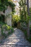 Gata av Oppede-le-Vieux Fotografering för Bildbyråer