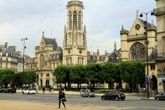 Gata av Paris Arkivfoto