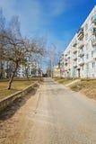 Gata av Pastavy Arkivfoto