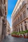 Gata av Rome Royaltyfria Bilder