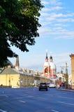 Gata av St Petersburg Arkivbild